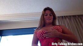 Blonde essaie un énorme gode films decul devant sa webcam